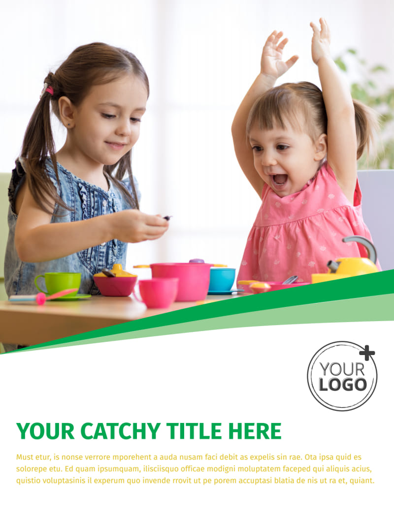Child Daycare Flyer Template Preview 2