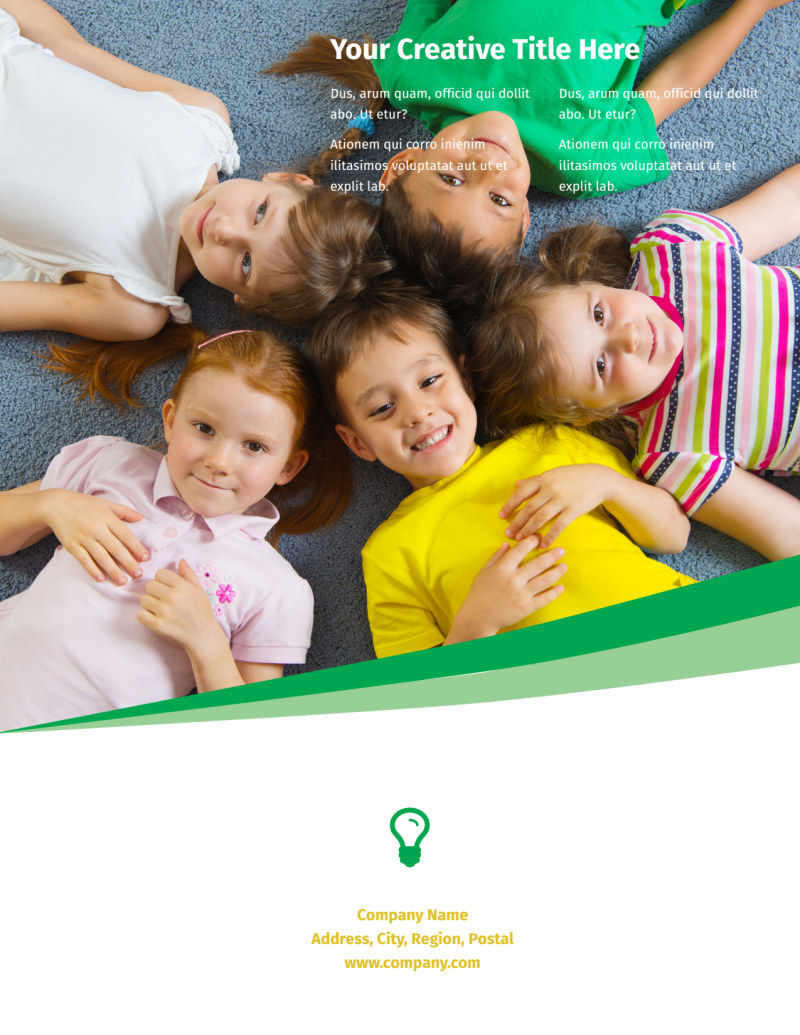 Child Daycare Flyer Template Preview 3
