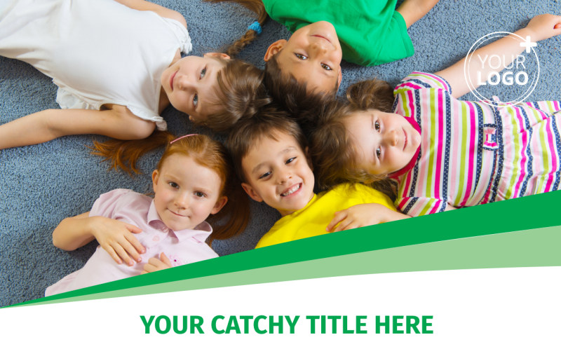 Child Daycare Postcard Template Preview 2