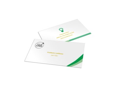 Baby & Child Day Care Business Card Template