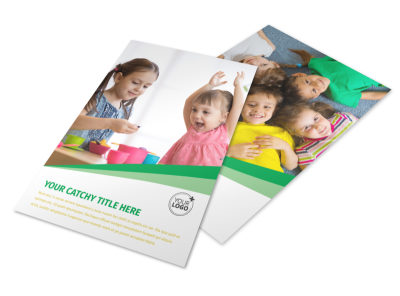 Baby & Child Day Care Flyer Template 3 preview