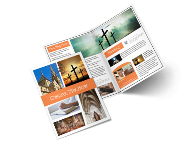 christian ministry brochure template 2
