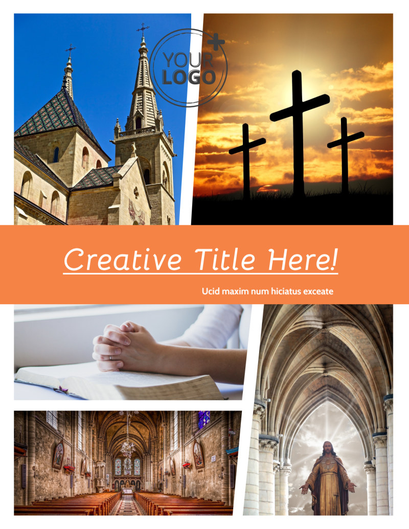 Evangelical & Christian Church Flyer Template Preview 2