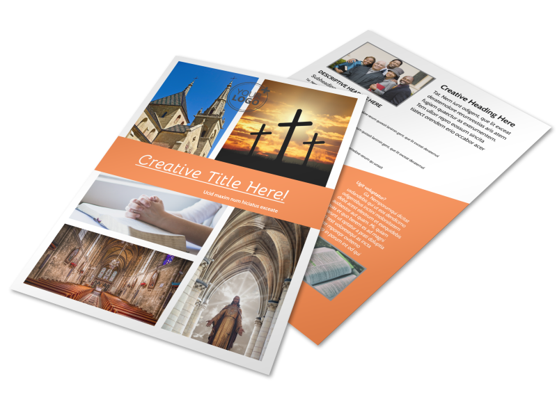 Evangelical & Christian Church Flyer Template Preview 1
