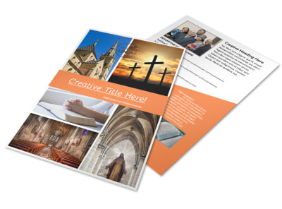 Christian Ministry Flyer Template preview