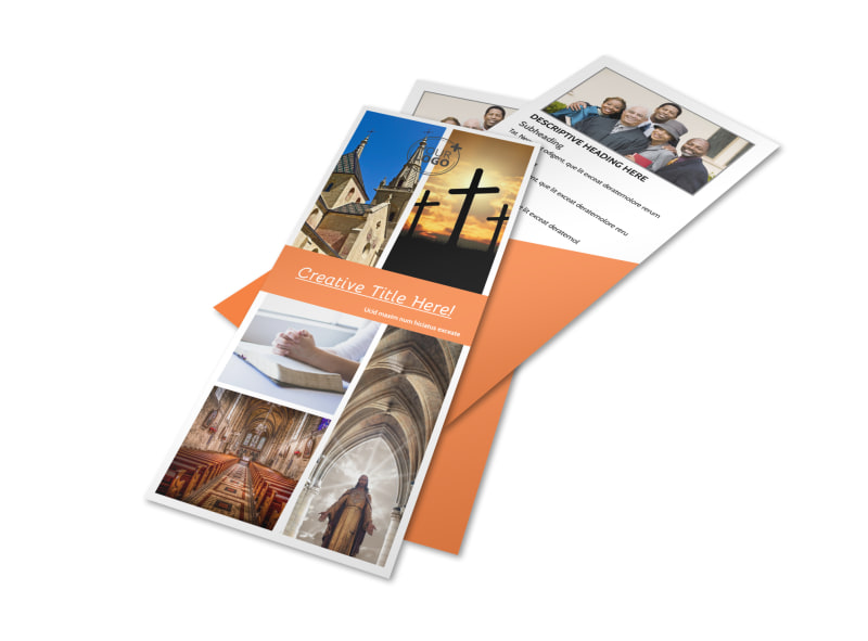 Evangelical & Christian Church Flyer Template Preview 4