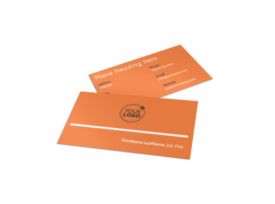 Christian Ministry Business Card Template preview