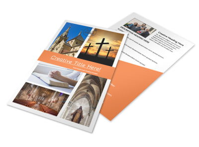 Christian Ministry Flyer Template 3 preview