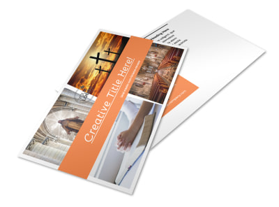 Christian Ministry Postcard Template 2 preview