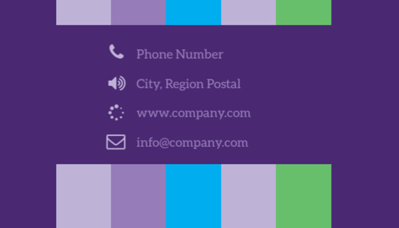 Party Entertainment Company Business Card Template Preview 3