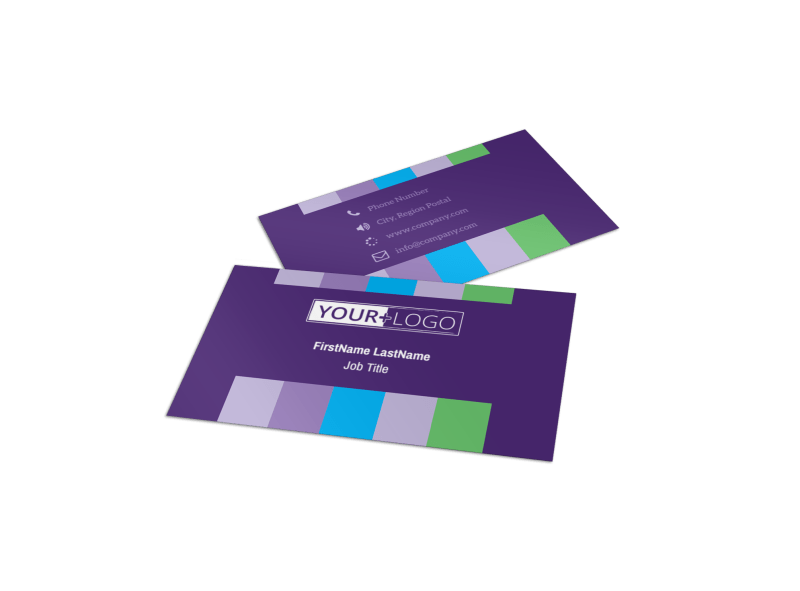 Party Entertainment Company Business Card Template Preview 1