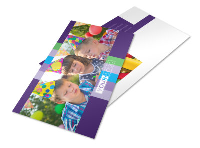 Party Entertainment Company Postcard Template 2 preview