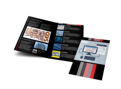 Creative Web Designers Bi-Fold Brochure Template