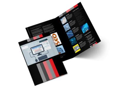 Creative Web Designers Bi-Fold Brochure Template 2