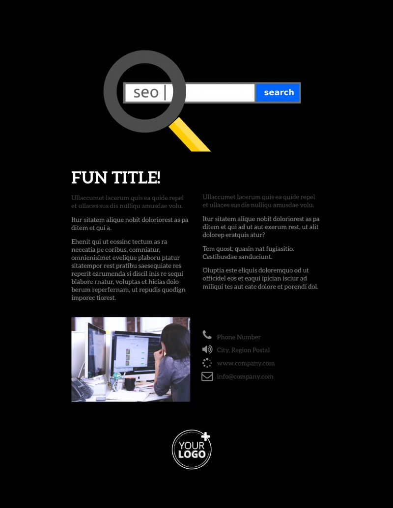 Creative Web Designers Flyer Template Preview 3