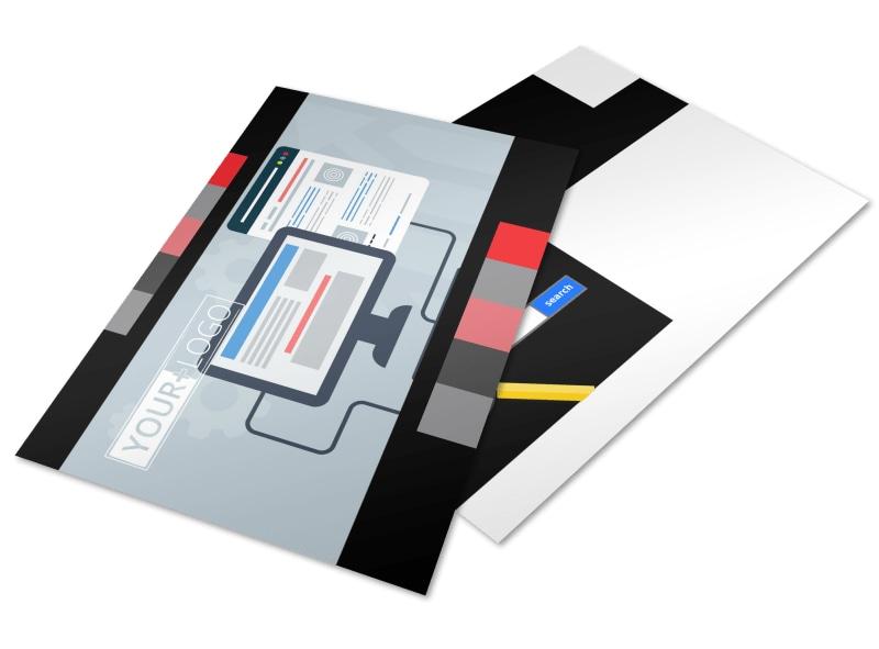 Creative Web Designers Postcard Template