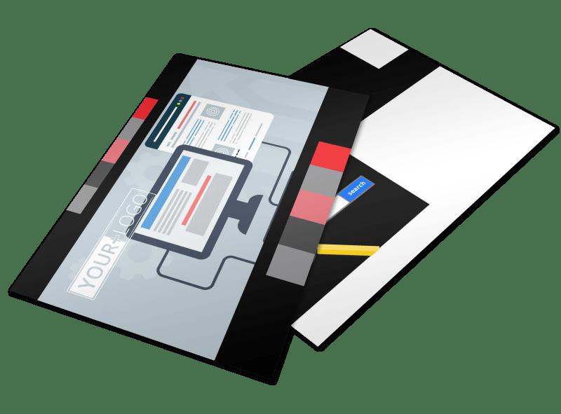 Creative Web Designers Postcard Template Preview 1