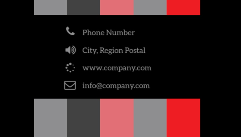 Creative Web Designers Business Card Template Preview 3