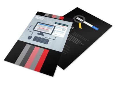 Creative Web Designers Flyer Template 3
