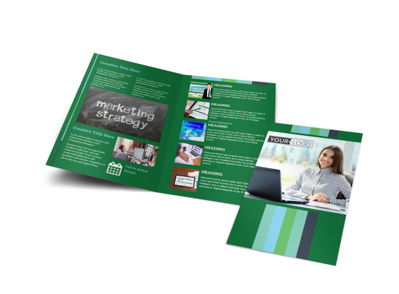 Marketing Consultant Brochure Template Preview 4