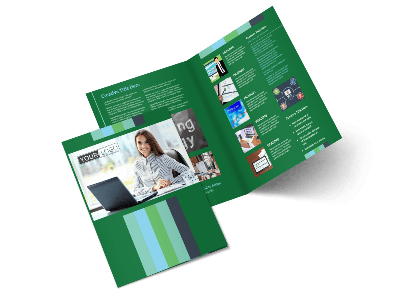 Marketing Consultant Brochure Template Preview 1