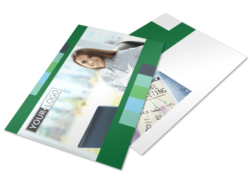 Marketing Consultant Postcard Template Preview 1