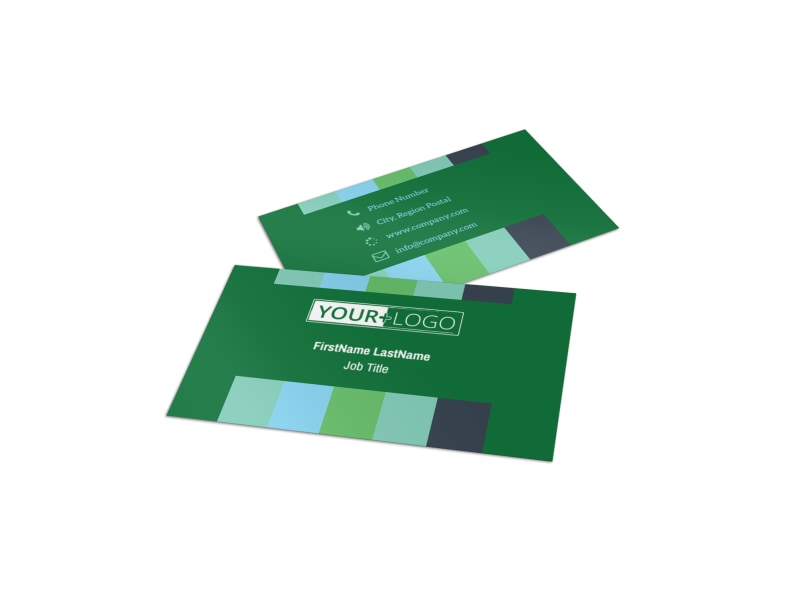 Marketing Consultant Business Card Template
