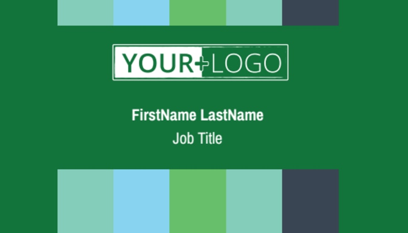 Marketing Consultant Business Card Template Preview 2