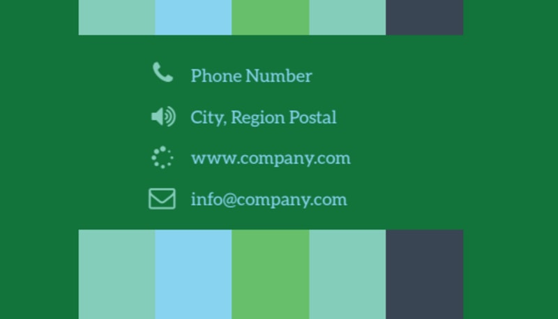 Marketing Consultant Business Card Template Preview 3