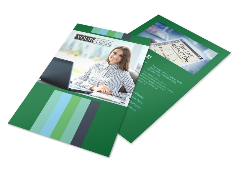 Marketing Consultant Flyer Template Preview 4