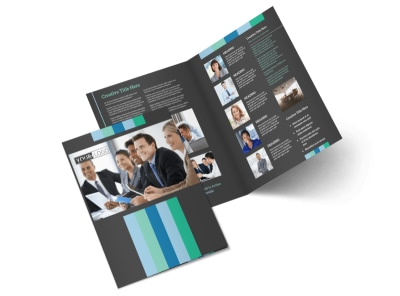 Business Leadership Conference Brochure Template 2