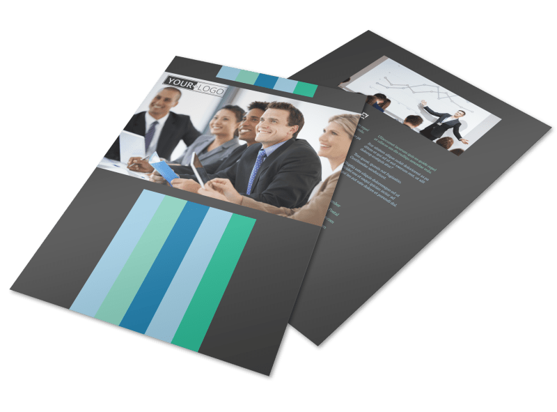 Business Conference Flyer Template Preview 1