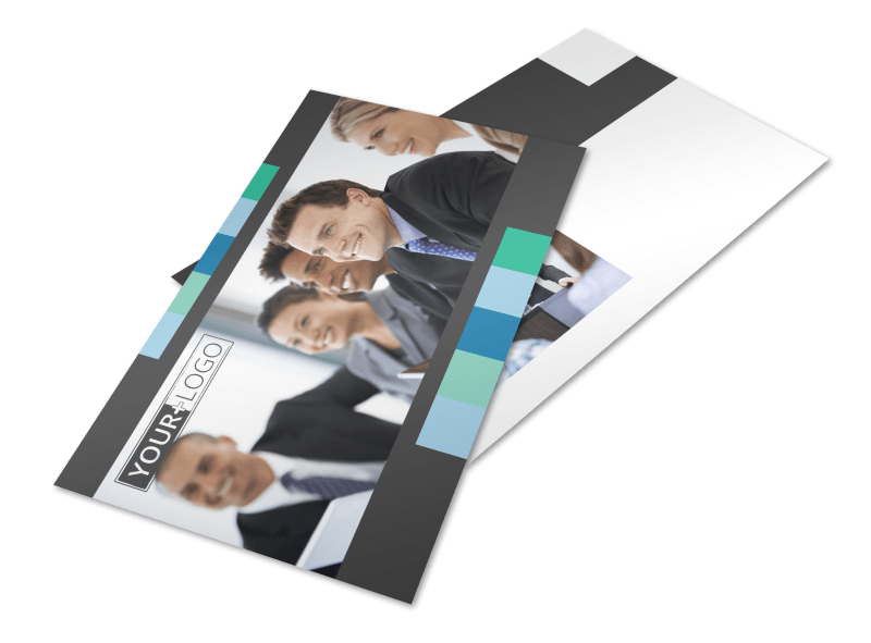 Business Conference Postcard Template Preview 1