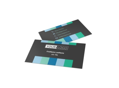 Business Leadership Conference Business Card Template preview