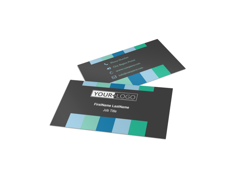 Business Conference Business Card Template Preview 1