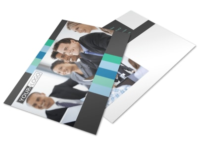 Business Leadership Conference Postcard Template 2 preview