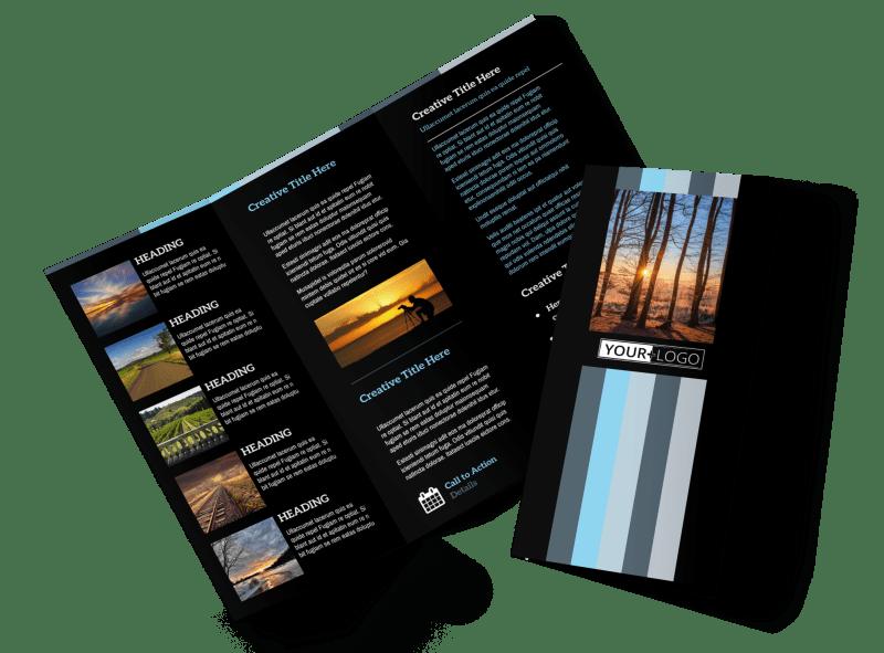 Landscape Photographer Brochure Template Preview 1
