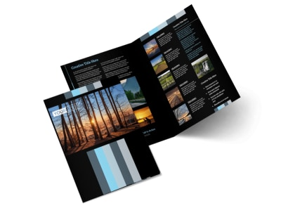 Landscape Photographer Bi-Fold Brochure Template 2