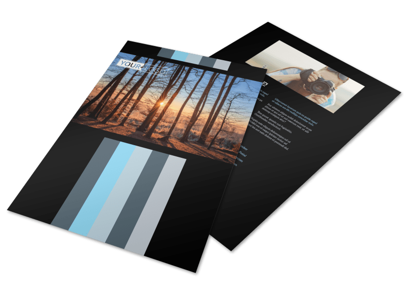 Landscape Photographer Flyer Template Preview 1