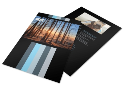 Landscape Photographer Flyer Template preview