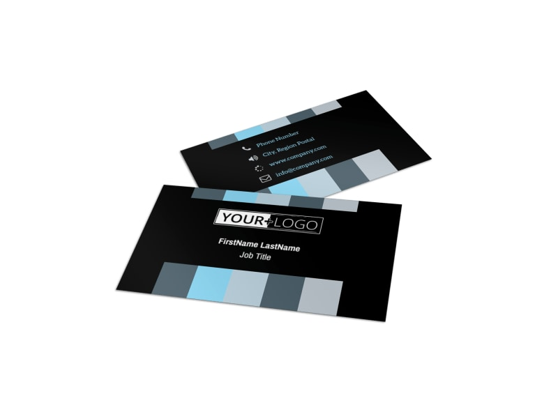 Landscape Photographer Business Card Template