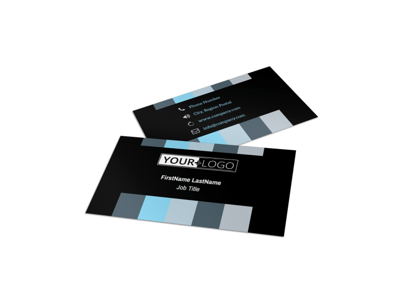 Landscape Photographer Business Card Template Preview 1