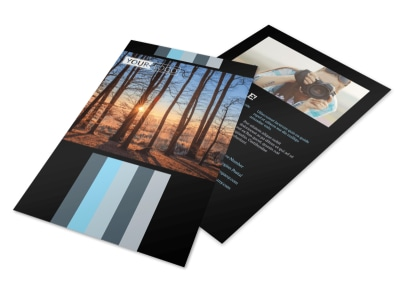 Landscape Photographer Flyer Template 3