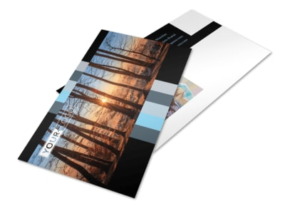 Landscape Photographer Postcard Template 2