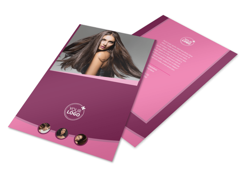 Beauty Parlour Flyer Template Preview 1