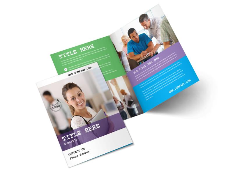 College & University Brochure Template 2