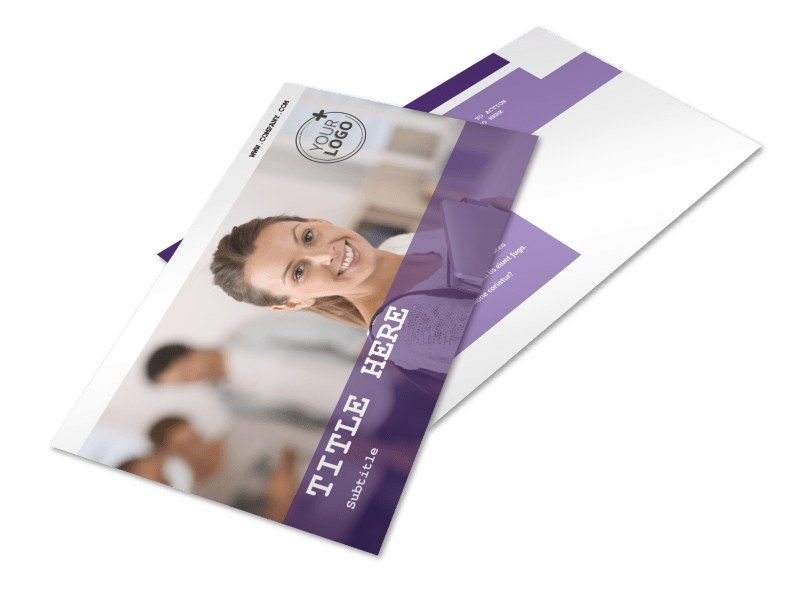 College & University Postcard Template