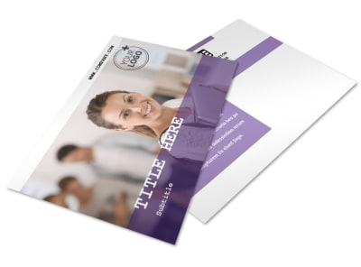 College & University Postcard Template 2