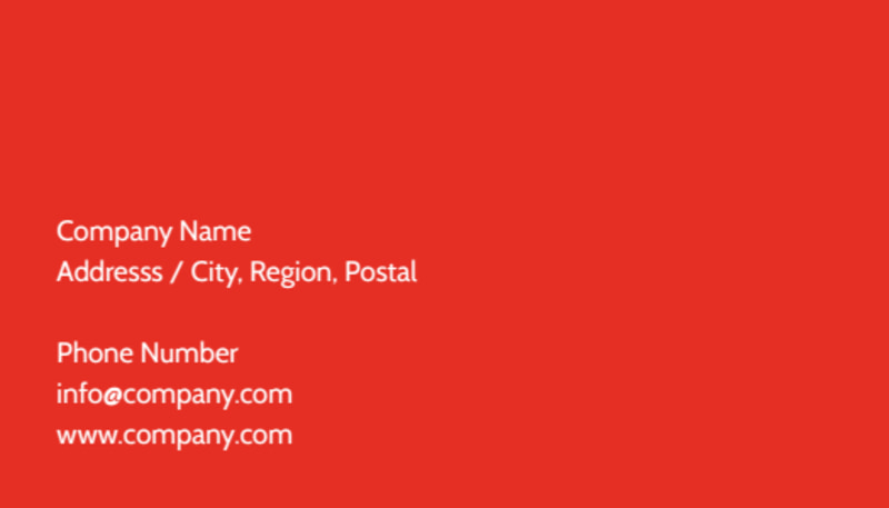 Language Learning Business Card Template Preview 3
