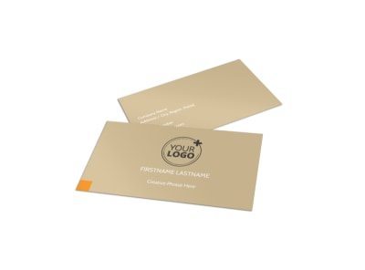 Mental Health Counseling Center Business Card Template preview